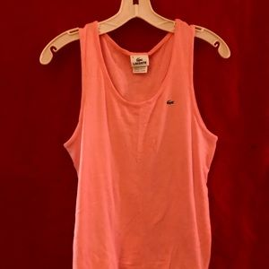 Lacoste tank Top Size. No. 46